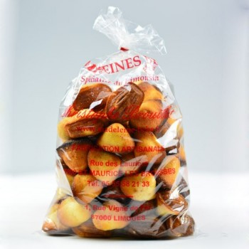 Petites madeleines nature - sachet de 300g
