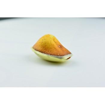 """MADELEINE BEBE"" 6 GROSSES madeleinettes CHOCOLAT BLANC 35% / FRAISE"