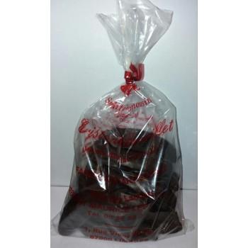 """MADELEINE BEBE"" madeleinettes longues Chocolat noir 70% sachet de 300gr"