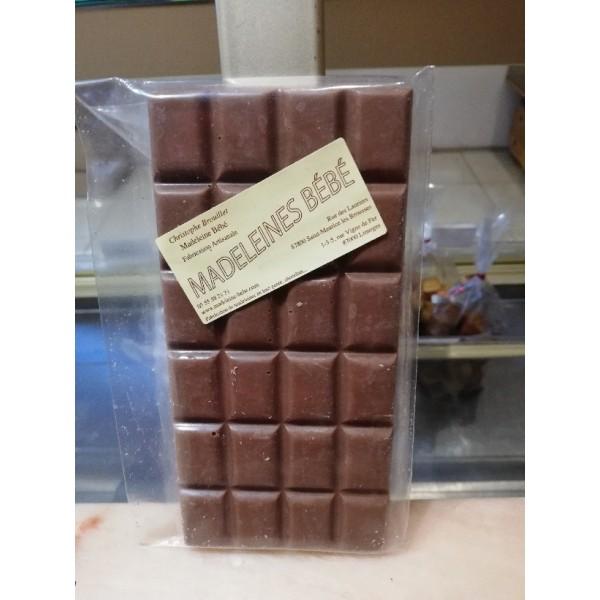 Tablette chocolat lait 29% 100gr