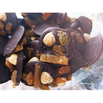 Mendiants chocolat noir 70%