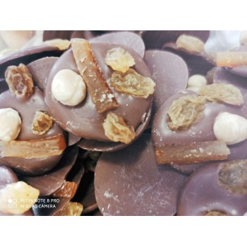 Mendiants chocolat lait 29%