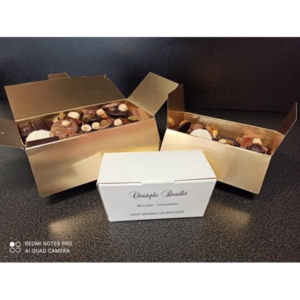 Assortiments chocolats 200gr
